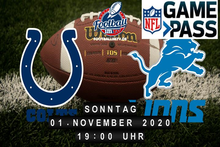 Indianapolis Colts - Detroit Lions