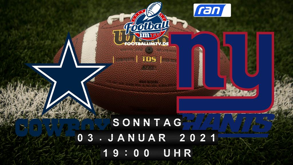 Dallas Cowboys - New York Giants