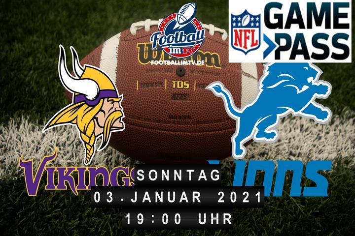 Minnesota Vikings - Detroit Lions