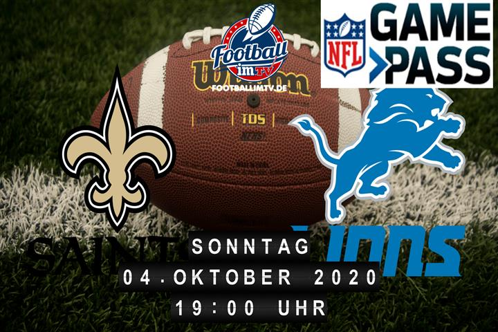 New Orleans Saints - Detroit Lions