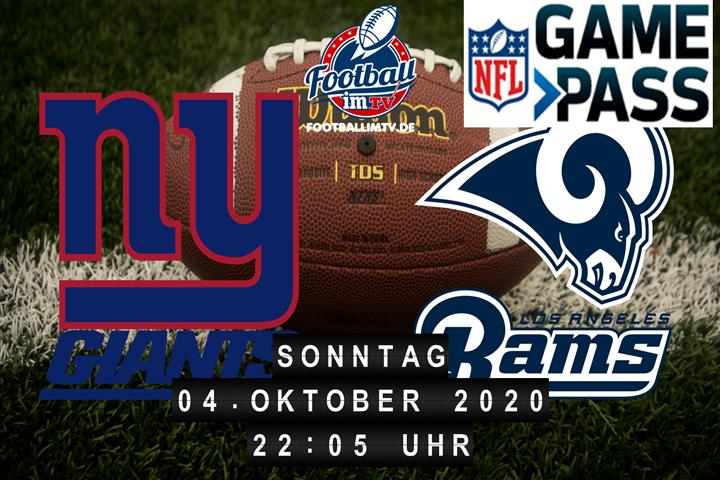 New York Giants - Los Angeles Rams