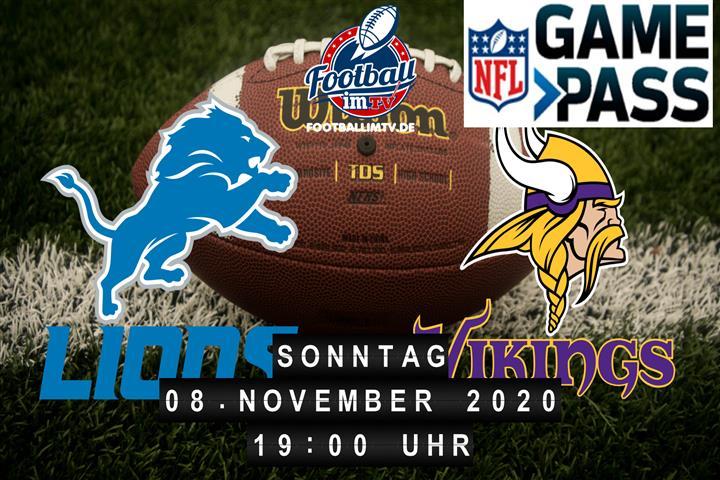 Detroit Lions - Minnesota Vikings