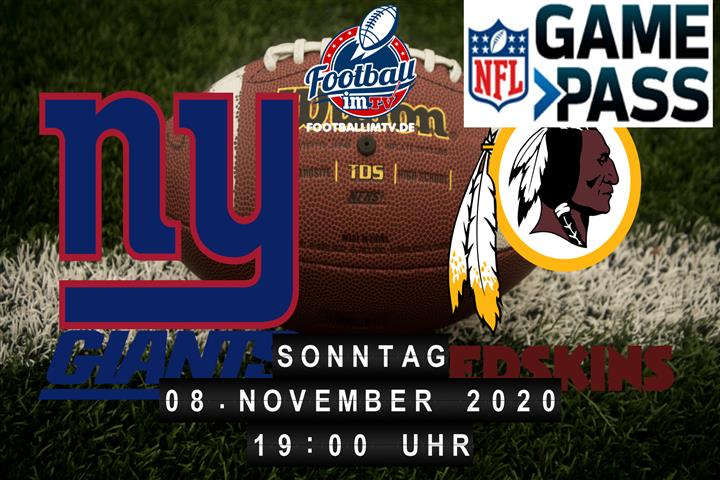 New York Giants - Washington Redskins