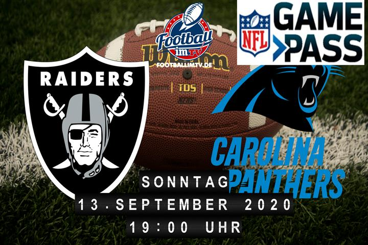 Las Vegas Raiders - Carolina Panthers