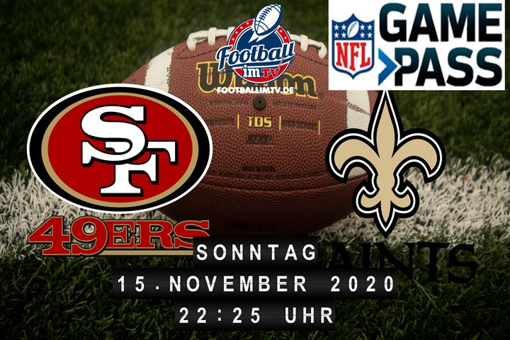 San Francisco 49ers - New Orleans Saints