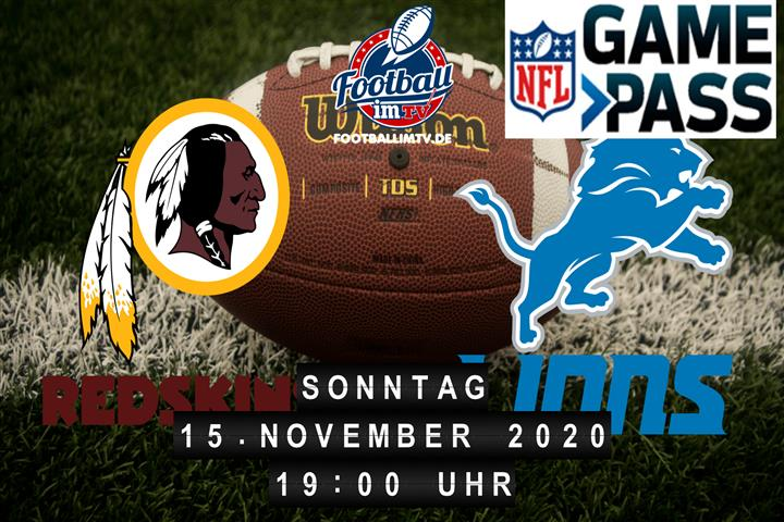 Washington Redskins - Detroit Lions