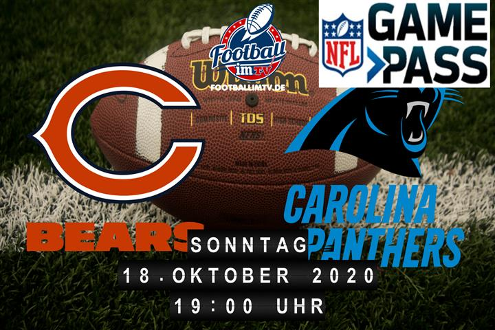 Chicago Bears - Carolina Panthers