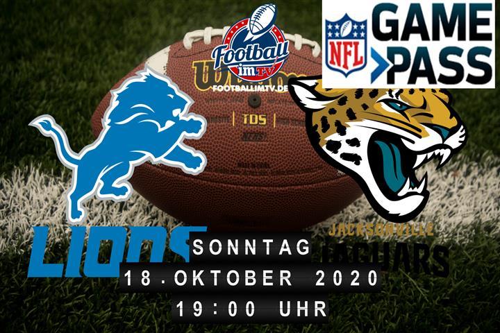 Detroit Lions - Jacksonville Jaguars