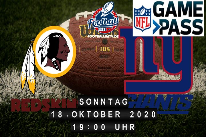 Washington Redskins - New York Giants
