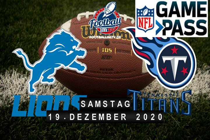 Detroit Lions - Tennessee Titans