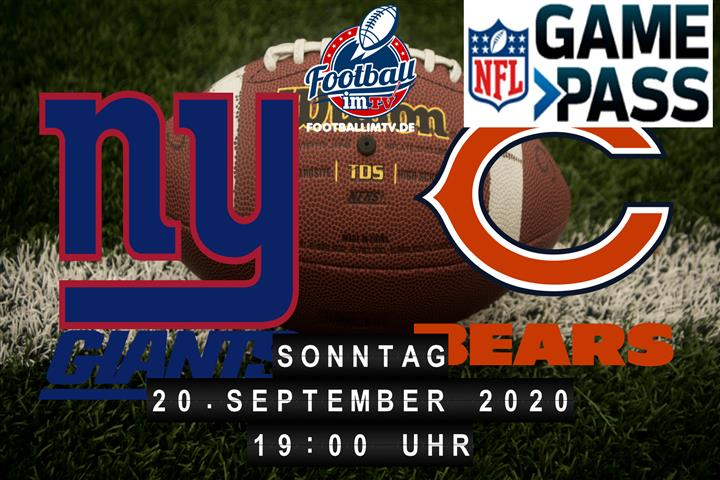 New York Giants - Chicago Bears