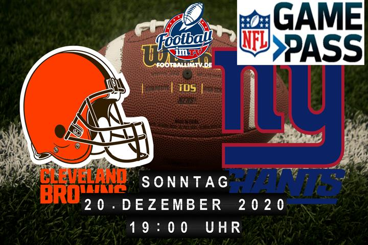 Cleveland Browns - New York Giants
