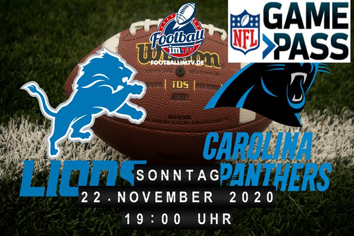 Detroit Lions - Carolina Panthers