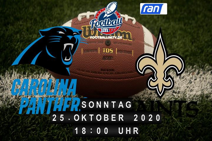 Carolina Panthers - New Orleans Saints