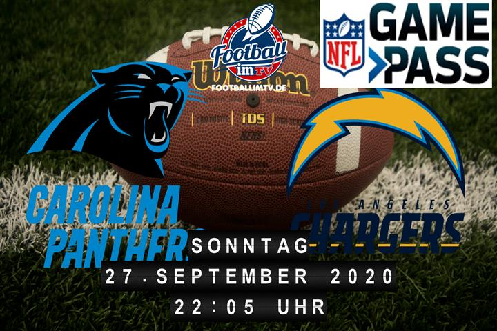 Carolina Panthers - Los Angeles Chargers
