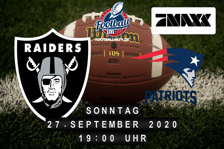 Las Vegas Raiders - New England Patriots