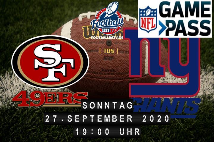 San Francisco 49ers - New York Giants
