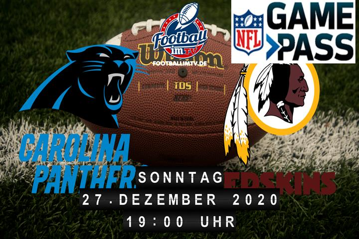 Carolina Panthers - Washington Redskins