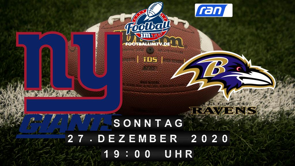 New York Giants - Baltimore Ravens