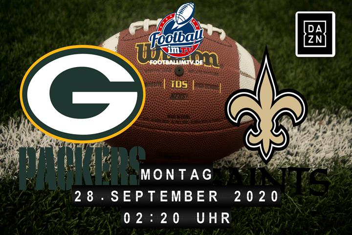 Green Bay Packers - New Orleans Saints