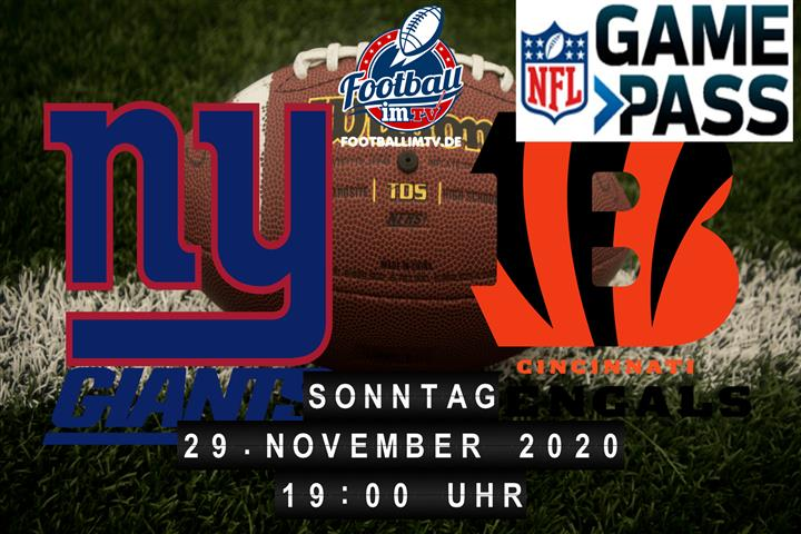 New York Giants - Cincinnati Bengals